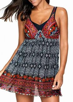 Size:3X;Color:Multi Color;Size:2X;Size:1X;Size:0X;Pad Style:Removable;Pattern Type:Print;Package Contents: 1 x Swimdress;Bra Style:Padded;Material:84% Polyester, 16% Spandex;Washing Instructions:Hand Wash;Support:Wire Free;Color Scheme:Multi Color;Strap Style:Unadjustable;Swimwear Type:Swimdresses;