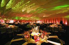 eco-conscious cotton fabric ceiling. Matthew David Hopkins' 360 Design ...specialevents.com