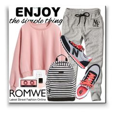 """Enjoy the simple things!"" by karolinaneverkarolcia ❤ liked on Polyvore featuring Abercrombie & Fitch, New Balance, Rip Curl and LVX"