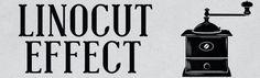 Create a Vintage Linocut Logo Effect: