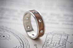 Steampunk Ring  Size Medium UK P/Q US 7.5/8 by Artype on Etsy