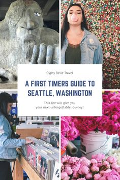 A First Timer's Guide to Seattle Washington - Gypsy Belle Travel I Want To Travel, New Travel, Travel With Kids, Travel Usa, Family Travel, Travel Tips, Starbucks Seattle, Stuff To Do, Things To Do