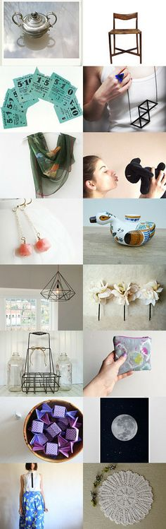 ivory flower by Britt Willis on Etsy--Pinned with TreasuryPin.com