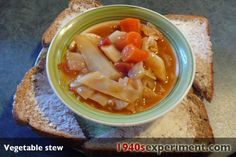 Vegetable Stew - 100 Wartime Recipes