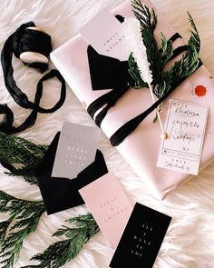 """464 Likes, 4 Comments - lauren + megan (@wildehousepaper) on Instagram: """"From 'tipsy & toasty' to 'merry everything', your December box will set you up to be the cutest…"""""""
