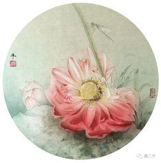 Woman Portrait, Female Portrait, Placemat, Lotus, Decorative Plates, Palette, Lily, Chinese, Drawings