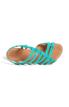 Love strappy sandals!