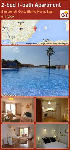 2-bed 1-bath Apartment in Benitachell, Costa Blanca North, Spain ►€157,500 #PropertyForSaleInSpain