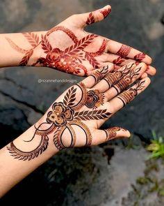 Henna Designs Arm, Modern Henna Designs, Mehndi Designs Finger, Floral Henna Designs, Henna Tattoo Designs Simple, Stylish Mehndi Designs, Mehndi Designs For Girls, Mehndi Designs For Fingers, New Bridal Mehndi Designs