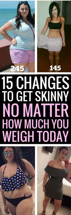15 tiny changes you need to make to your daily habits if you want to lose big weight.