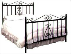 Wrought Iron Bed | Product Code: WIB-018 - wrought-bed category | Bali product export - wholesale/retail - order/shipping/catalog > ubudgates.com