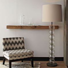 """Abacus Floor Lamp - Glass 