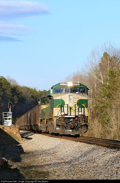 RailPictures.Net Photo: NS 756 Norfolk Southern GE ES44AC at Pine Hall, North Carolina by Trey Belton