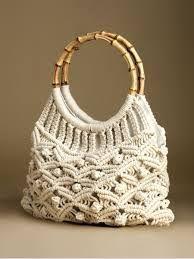 Resultado de imagem para macrame handbags