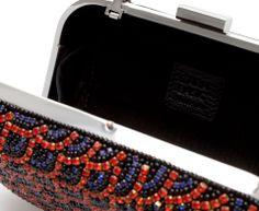 Zara - sac à main écailles perlées