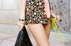 Aztec Tap Shorts  http://www.nastygal.com/clothes/aztec-tap-shorts?utm_source=pinterest&utm;_medium=smm&utm;_campaign=pinterest_nastygal