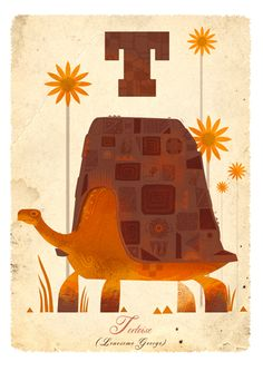 T is for Tortoise, giclee print by Graham Carter £40.00 T is for Tortoise' by Graham Carter, from the animal inspired alphabet range. This lonesome fella needs a loving home this Christmas, so snap him up and support a very worthy charity at the same time!  Limited edition giclee print created by Graham Carter and signed by the artist.