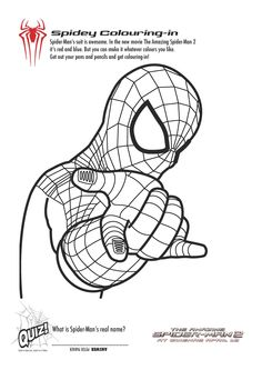 Top 33 Free Printable Spiderman Coloring Pages Online | Spiderman ...