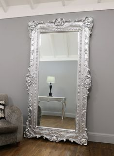 Extra Large Mirrors – William Wood Mirrors Huge Mirror, Wood Mirror, Beveled Mirror, Beveled Glass, Diy Makeup Mirror, Extra Large Mirrors, Circular Mirror, Wall Mount, Oversized Mirror