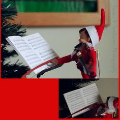 Elf on the Shelf Elf on the Shelf Ideas #ElfontheShelf