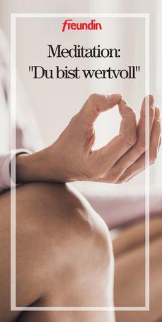 Diese Meditation hilft Ihnen, sich selbst (mehr) zu lieben