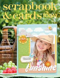2011 - summer - past scrapbook and cards magazine