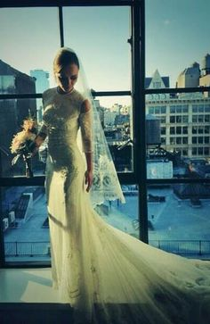 Christina Ricci - Gina Conway's best wedding hairstyles ever on Layered Magazine online