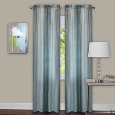 Sombre Curtain Panel