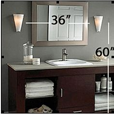 Bathroom Vanity Light Height a lesson in bathroom lighting | lights, house and face