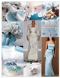 baby blue wedding | do ... Inspiration: {Weekend Wedding} Light Blue, Silver, & White