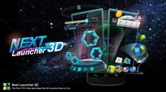 i am shearing Make your Mobile beautiful with 3D Launcher app. with this app you can make your mobile phone icon beautiful and 3D for your smart phone.