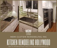 Take a look at our kitchen remodeling work at Hollywood.