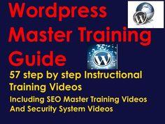 WORDPRESS MASTER TRAINING VIDEO GUIDE  #Wordpress #Training #Video