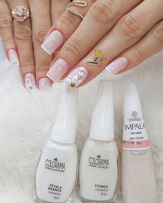 80 ideas to create the best Halloween nail decoration - My Nails Bride Nails, Wedding Nails, Cute Nails, Pretty Nails, Hair And Nails, My Nails, Nail Decorations, Beautiful Nail Art, Perfect Nails