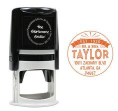 Taylor Self Inking Stamper
