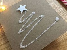 9 More Easy Homemade Christmas Cards with Step by Step Instructions – DIY Theory Christmas Crafts For Adults, Homemade Christmas Cards, Simple Christmas, Christmas Diy, Christmas Ornaments, Handmade Greetings, Greeting Cards Handmade, Easy Paper Crafts, Diy And Crafts