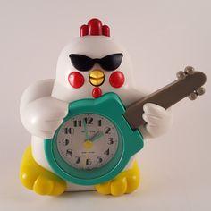 Rhythm rock n roll chicken quartz alarm clock JAPAN sings Hey Baby Wake Up Talking Alarm Clock, Rock N Roll, Singing, Japan, Cool Stuff, Ebay, Rock Roll, Japanese