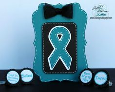 Created by Jamie using Awareness Ribbon Die, Awareness Candies, Candy Charms and Banner Dies and Fancy Topper Die. http://jadedblossom.bigcartel.com/