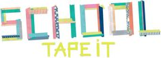 School Tape It Video with loads of cool ideas for kids!