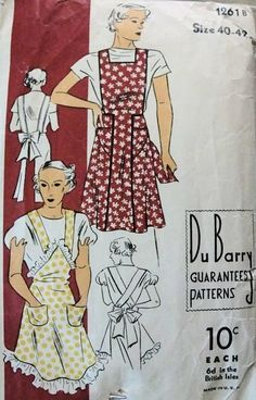 1930s - Apron History- Bodey