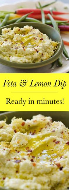 We all need a go to dip, mine is this lemon and feta dip I have been making for years!
