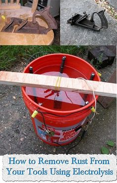 How to Remove Rust From Your Tools Using Electrolysis