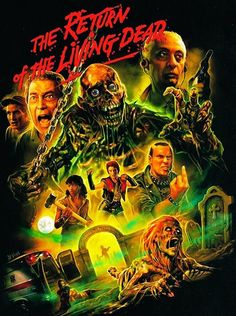 I have always enjoyed zombie movies and books. The first one I remember seeing was George Romero's Night Of The Living Dead Horror Movie Posters, Movie Poster Art, Horror Films, Zombie Movies, Scary Movies, Pop Art, Horror Monsters, Classic Horror Movies, Arte Horror