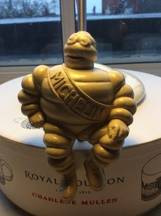 Bibendum Michelin en Bakélite, cendrier GB ou U.S