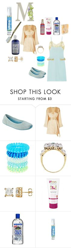 """""""Sleep Attend Thee"""" by michelle858 ❤ liked on Polyvore featuring L.L.Bean, La Perla, Tiffany & Co., Alöe and EO Products"""