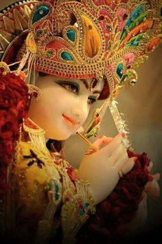 Cute Krishna, Radha Krishna Photo, Krishna Photos, Shree Krishna, Krishna Art, Radhe Krishna, Indian Goddess, Lord Krishna Images, Laddu Gopal
