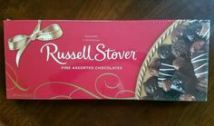 Extra Large BOX Russell Stover ASSORTED CHOCOLATES Candy 26 oz VALENTINE GIFT #RussellStover