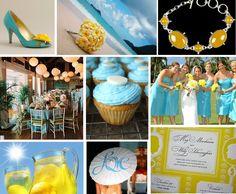 Yellow & Light Blue