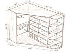 27 крутых идей с чертежами для создания шкафа твоей мечты. В восторге от № 9!