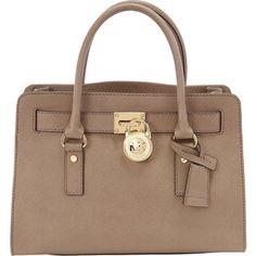 Michael Kors Hamilton 18K E/W Saffiano Satchel Handbag Satchel - $298